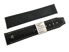 Maurice Lacroix Pontos Uhrenarmband XL 20 mm schwarz