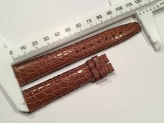 IWC Lederband Krokodil 18 mm braun