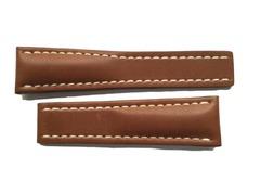 Breitling Uhrenarmband 24-20 mm Leder braun 440X
