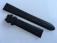 RADO Uhrenarmband Leder schwarz 19 mm XL