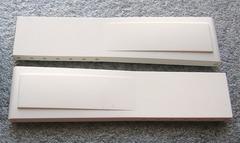 Breitling Ocean PRO II Kautschuk-Faltschließenuhrband 20 mm Weiss