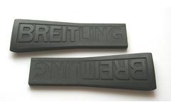 Breitling Diver PRO III 156S Kautschuk-Faltschließenband 26-20 mm schwarz