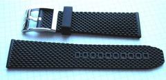 Breitling AERO Classic Kautschuk-Dornschließenband 22 mm
