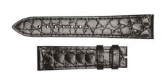 LONGINES Lederband 20/18 mm Classique Schwarz