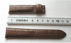 LONGINES Kalblederuhrband mit Alligatorprägung 21/18 mm
