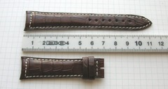 JLC Jaeger Le Coultre Krokodil (Alligator) Uhrenband 19 mm