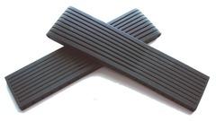 Breitling PRO Ribbed Schwarz Kautschuk-Faltschließenbandteile 22-20 mm