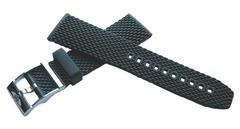 Breitling AERO Classic Kautschuk-Dornschließenband 22-20 mm
