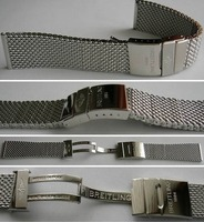 Breitling Ocean Classic Edelstahl-Meshband 20 mm