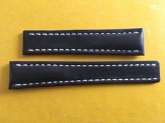 BREITLING Lederband für Faltschliesse 20-18 mm