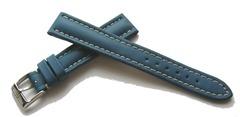 Breitling 805S Nylon Leather Dornschließenuhrband 16-14 mm Blau