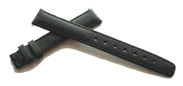 IWC Klassik Damen-Uhrenarmband 14/12 mm Schwarz