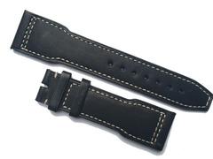 IWC Uhrenarmband Pilot Kalbleder schwarz 22/18 mm