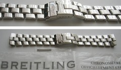 Breitling Edelstahlband 830A für Fighter Emergency Mission A73321