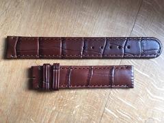 [Verkauft] ORIS Lederarmband 16 mm braun