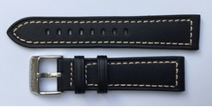 FESTINA Uhrarmband 22-20 mm Leder schwarz