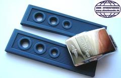 Breitling Ocean Racer Kautschuk-Faltschließenband Blau 22-20 mm