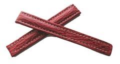 Breitling Echt-Hai XL Rot für Breitlingfaltschließe 15-14 mm