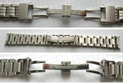 JLC Jaeger Le Coultre Edelstahlband Master Compressor 22 mm