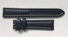 ORIS Lederband 18 mm schwarz
