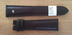 Maurice Lacroix Miros Lederband 22 mm braun