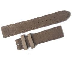 NOMOS Velours Lederband 17 mm beige Größe S