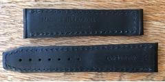 Maurice Lacroix Masterpiece Lederarmband 20 mm schwarz
