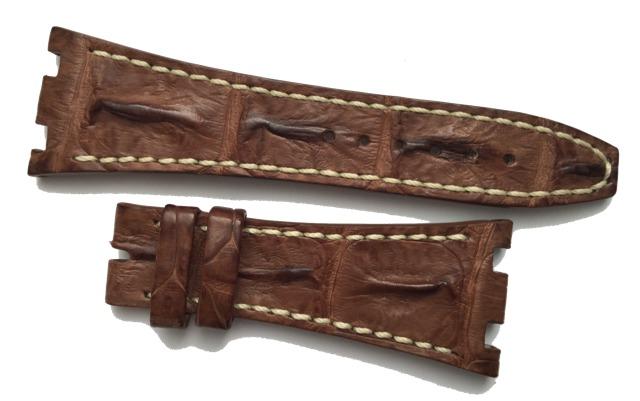 Audemars Piguet Royal Oak Offshore Uhrenarmband 28 mm braun