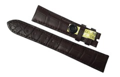 Patek Philippe Uhrenarmband 19/16 mm Alligator Braun