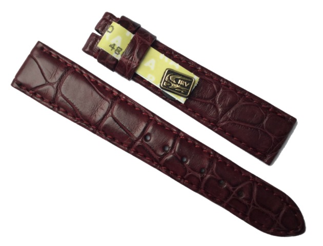 Chronoswiss Damen Uhrenarmband 16/14 mm Alligator Bordeaux