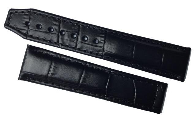 Maurice Lacroix Masterpiece Lederband mit Faltschliesse