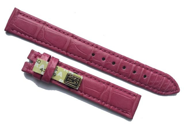 Chronoswiss Armband Damen Alligator 16/14 mm Pink