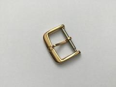[Verkauft] Dornschliesse Omega 16 mm vergoldet alte Ausführung