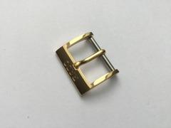 RADO Dornschliesse 15 mm Edelstahl vergoldet