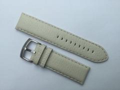 Emporio Armani Uhrenarmband Leder 23/22 mm Beige
