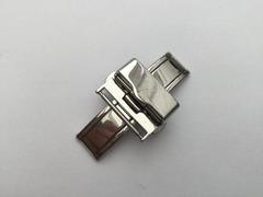 Mühle Glashütte Faltschliesse 18 mm Stahl