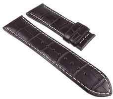 Jaguar Ersatzband Uhrenarmband Leder Band mit heller Kontrastnaht für J644