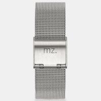 meerzeit Mesh Strap - silber Edelstahl 20 mm