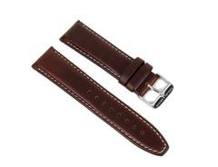 Abeler & Söhne Uhrenarmband Leder 22mm Braun AS72320904