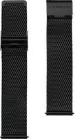 STERNGLAS Uhrenarmband »Milanaise 20 schwarz, SBA00/405«