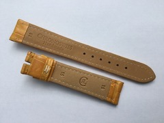 Chronoswiss Uhrenarmband 18/16 mm Alligator Hellbraun