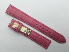 Chronoswiss Uhrenband 16/14 mm Alligator Pink