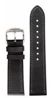 hanhart Uhrenarmband »Uhrenarmband PIONEER Leder ohne Nieten (22 mm)«