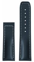 hanhart Uhrenarmband »Uhrenarmband PRIMUS Leder blau (ohne Schließe)«