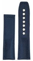 hanhart Uhrenarmband »Uhrenarmband PRIMUS Textil blau (ohne Schließe)«