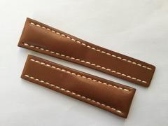 Breitling Uhrenarmband 440X für Faltschliesse 24-20 mm Kalbleder Braun