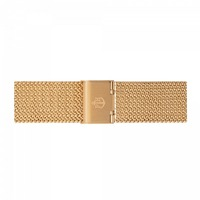 Paul Hewitt Uhrenarmband Mesh Woven Gold 20 mm