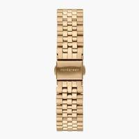 Nordgreen 5-Link-Armband Edelstahl - Gold - 36mm