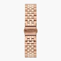 Nordgreen 5-Link-Armband Edelstahl - Roségold - 36mm