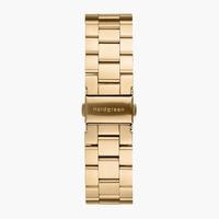 Nordegreen 3-Link-Armband Edelstahl - Gold - 36mm